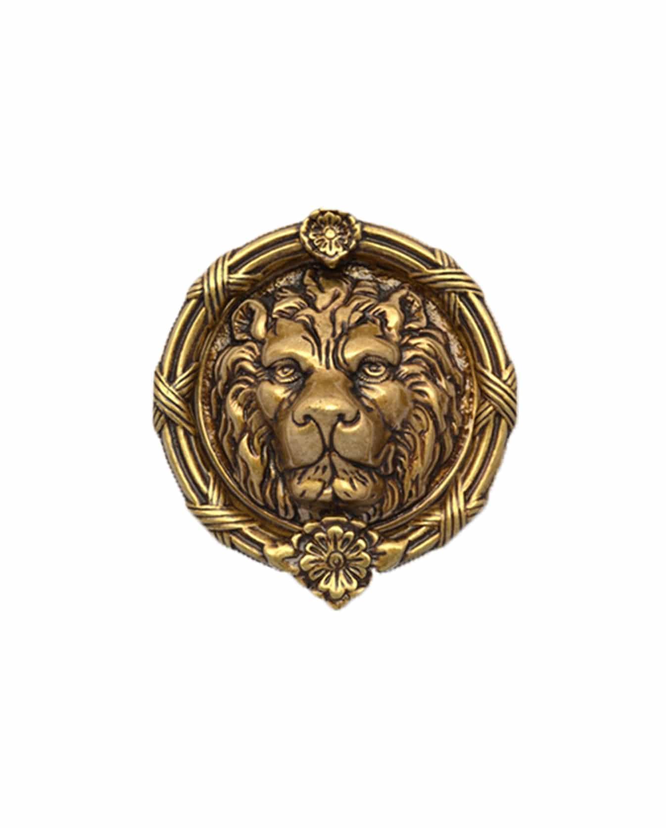 Brass Lions Head Door Knocker 4 Ab 106