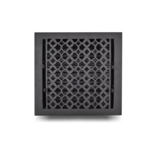 Cast-Aluminum-Floor-Register-10-x-10-VR-100_Black_1010FRCA-BLK