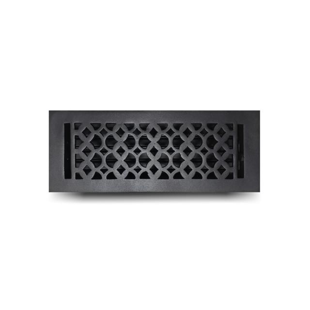 Cast-Aluminum-Floor-Register-4-x-12-VR-100_Black_412FRCA-BLK