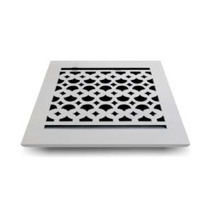Cast-Aluminum-Floor-Register-8-x-8-VR-100_White
