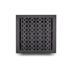 Cast Iron Floor Register 10 x 10 VR-100_Black_1010FRCI-BLK