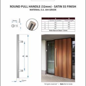 Door-Pull-Handle-Round