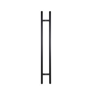Door-Pull-Handle-Round-H-Type-48-Black