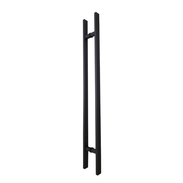 Door-Pull-Handle-Rectangle-H-Type-–-48-Black