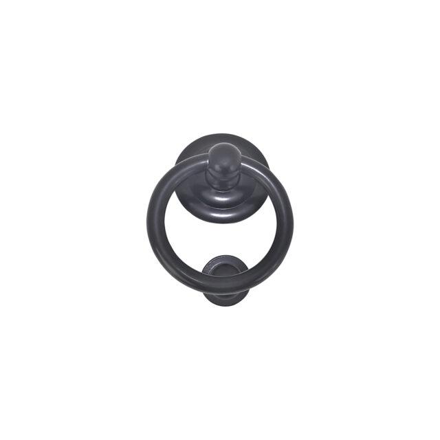 Door-Knocker-Brass-Round-Ring-Black_DKR-106-BLK