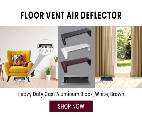 Floor Registers Deflector